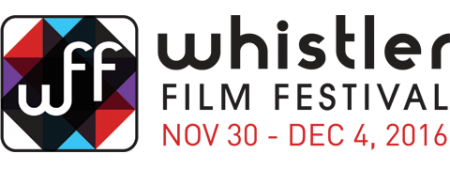 Logo for Whistler Film Festival 2016