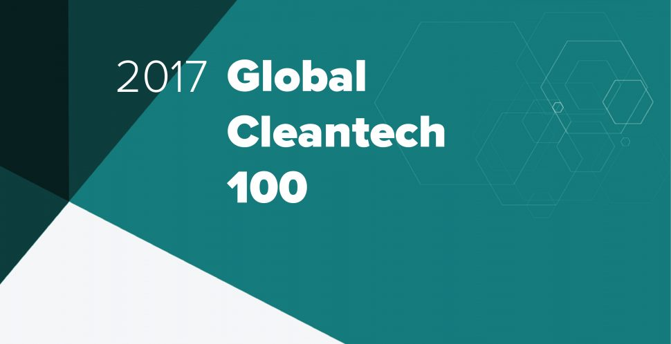 CLEANTECH ROUNDUP: GLOBAL 100 AND PATIENT CAPITAL