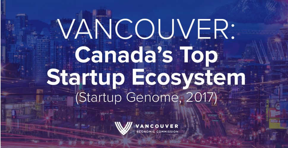 Vancouver - Canada's Top Startup Ecosystem - Startup Genome 2017 - Vancouver Economic Commission - Vancouver Startup City.png