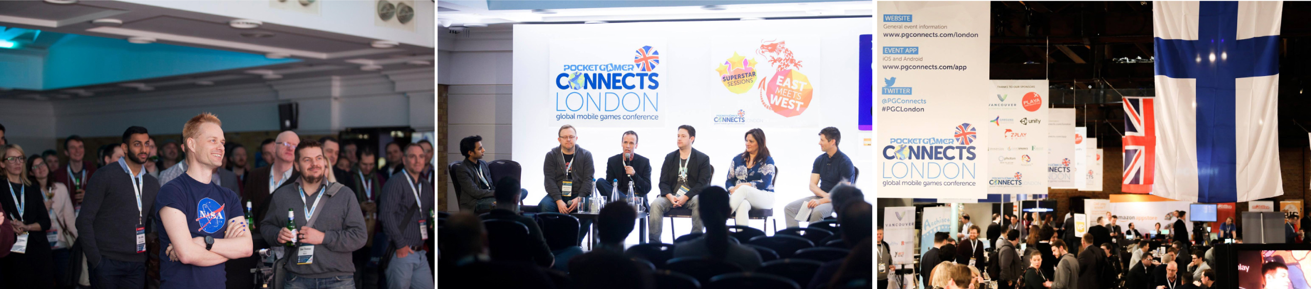 Back for 2019, the Level Up: Vancouver, British Columbia pavilion, jointly organized by the Province of British Columbia and the Vancouver Economic Commission, brings together top studios from Vancouver and British Columbia to showcase and network at the PG Connects mobile and VR/AR games conference in London.